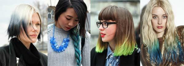 Кольорове волосся - модний б'юті-тренд сезону (фото)