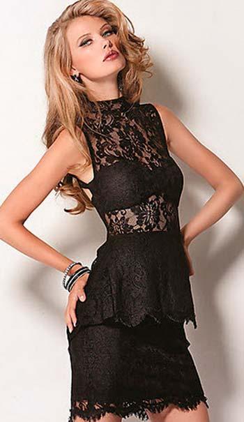 Модні сукні з мережива 2013