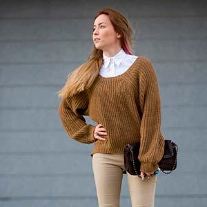 З чим носити мішкуватий светр (фото) – Любов + Мода 9f9946e7c38d5
