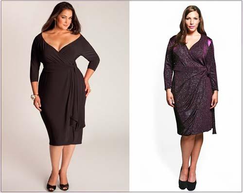 Модні сукні для повних жінок 2013 фото