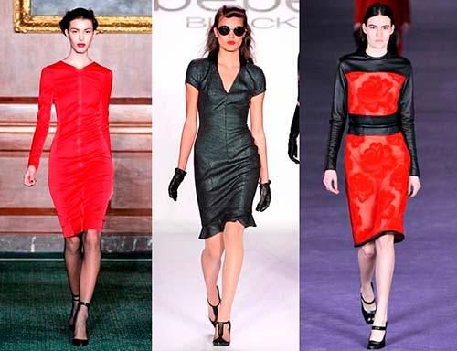 Модні повсякденні сукні 2013