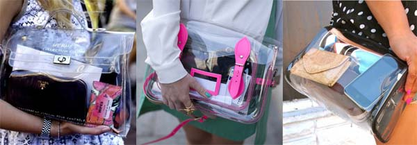 Прозорі сумки і клатчі - сміливий тренд сезону (фото)