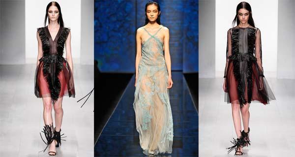 Прозорі тканини - спокусливий тренд сезону весна-літо 2013 (фото)