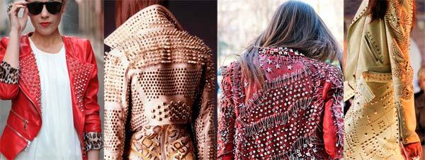 Шипи - модний тренд сезону зима 2013