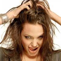 Здорове красиве доглянуте волосся