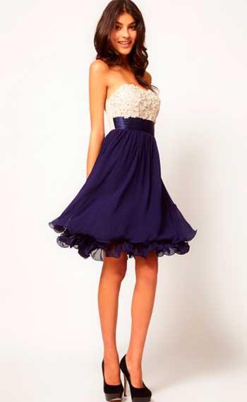 Випускні плаття в горошок та смужку