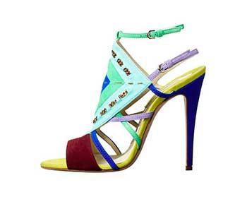 Яскраві весняні туфлі 2013 (фото)