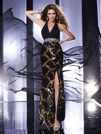 Модні довгі вечірні сукні 2013