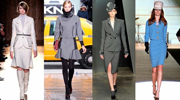 Модні жіночі ділові костюми 2013