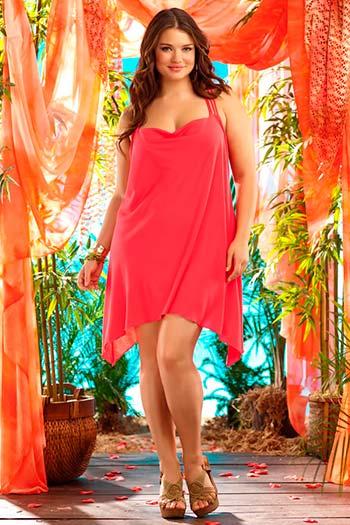 Мода для повних жінок: сарафани