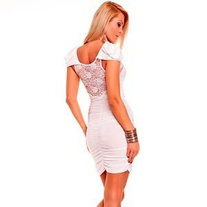 Коротке біле плаття  з чим носити – Любов + Мода c5fc7fedb1b7a