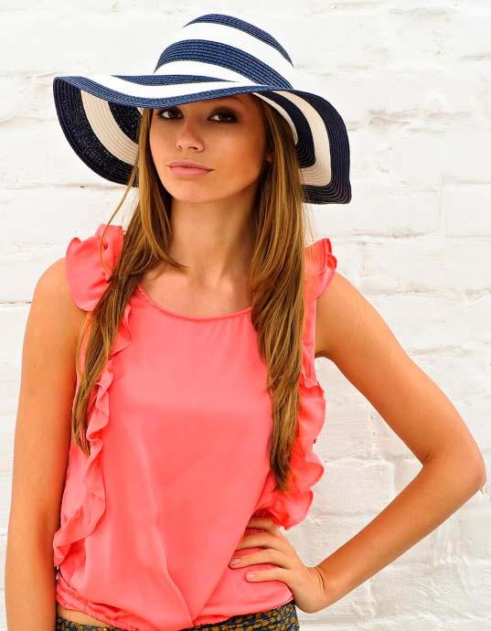 Солом'яний капелюшок. Як вибрати і правильно носити?