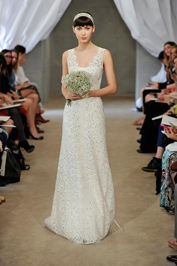 Весільні сукні класу люкс в колекції Carolina Herrera весна-літо 2013