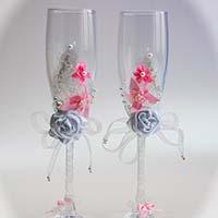 Як вибрати весільні келихи?