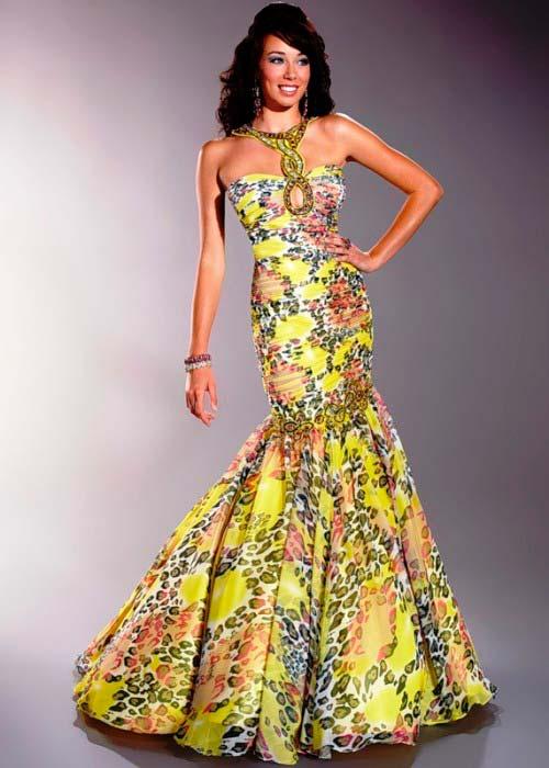 Жіночні і незвичайні сукні максі 2013