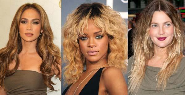 Зачіска з ефектом омбре фото