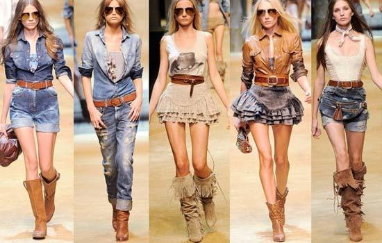 Ковбойський стиль в одязі