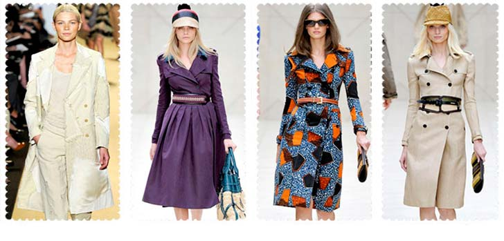 Модні жіночі плащі 2013-2014 фото