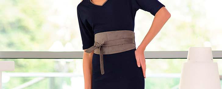 Плаття з широким поясом. Які деталі врахувати?