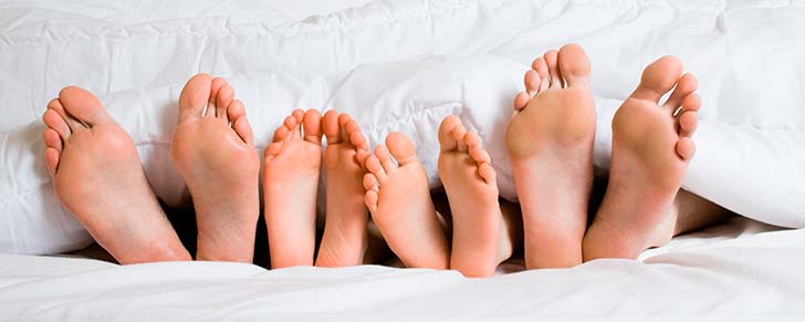 Як позбутися мозолів на ногах