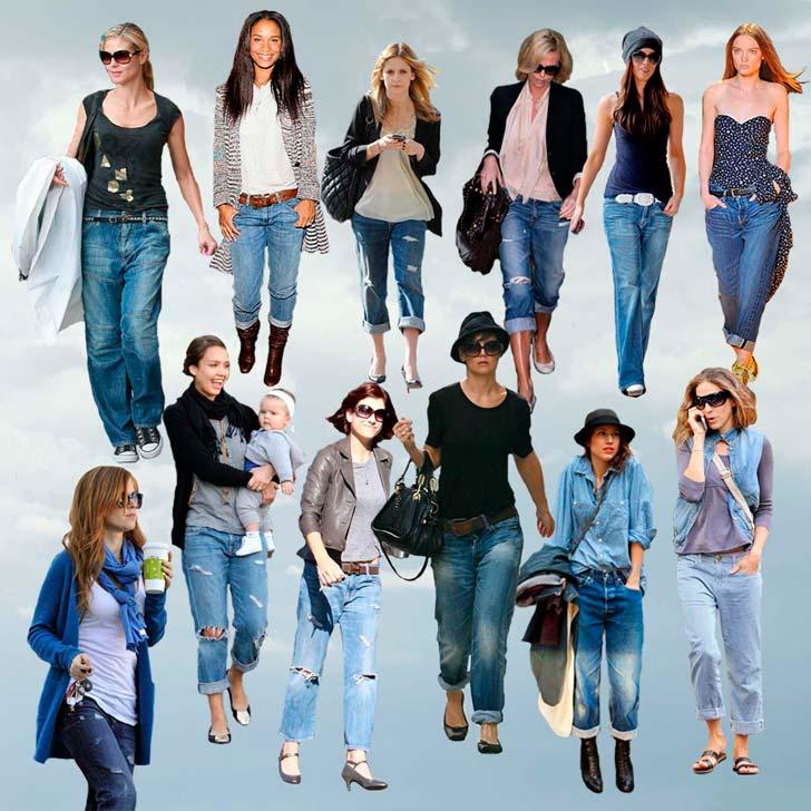 Що одягнути з джинсами?