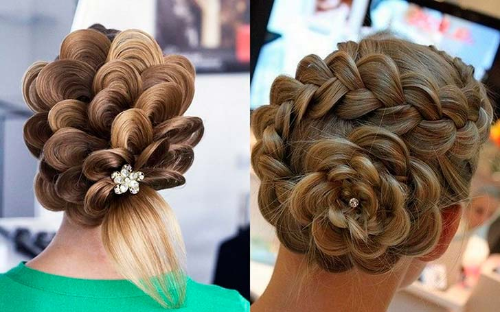 Плетение модных причесок из кос