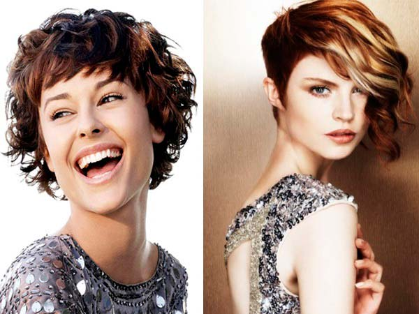 Короткі стрижки для кучерявого волосся