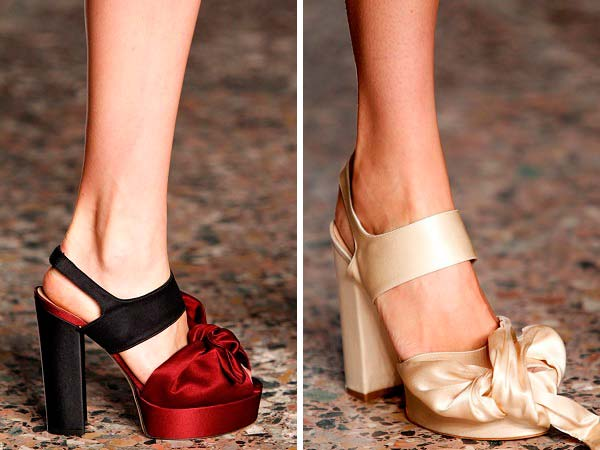 Модні туфлі весна-літо 2014