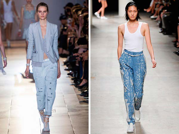Модні штани весна-лето 2014