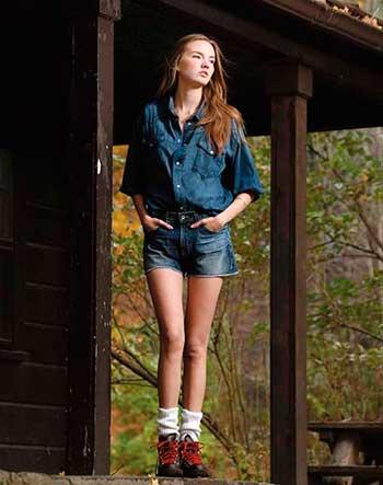 Модні жіночі джинсові шорти 2014