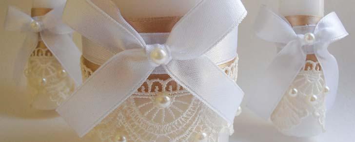Весільні свічки своїми руками