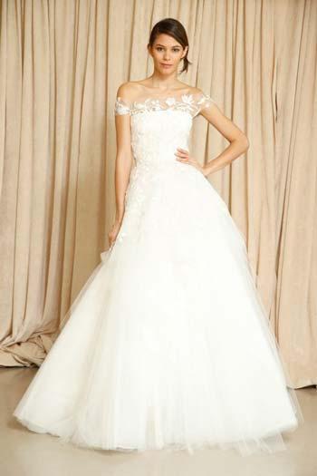 Весільні сукні oscar de la renta осінь зима 2014