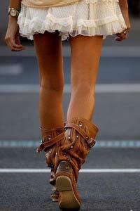Літні жіночі чоботи 2014