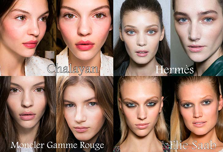 Модний макіяж весна-літо 2014