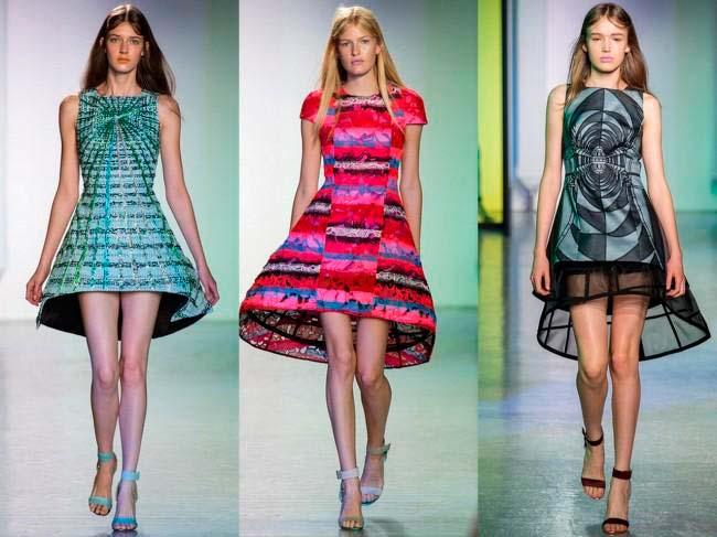 Модні плаття весна-літо 2014 фото