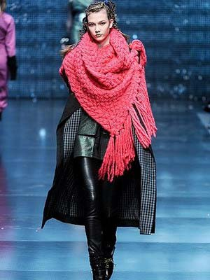 Модні шарфи 2014
