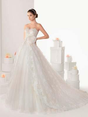 Пишні весільні сукні 2014