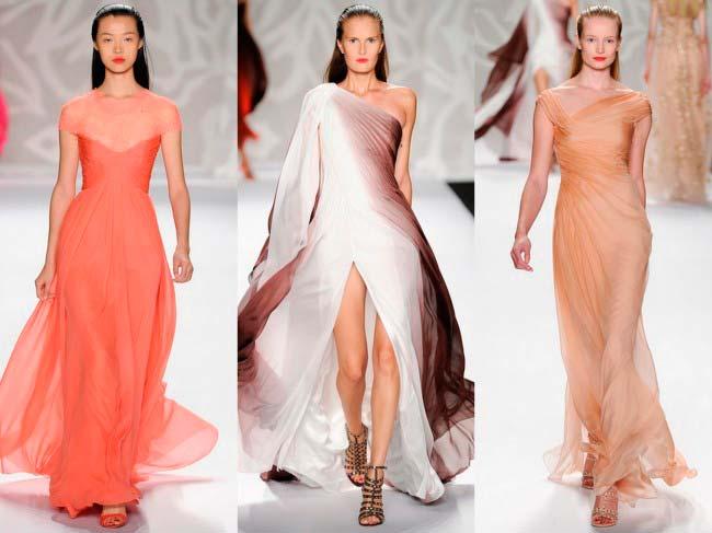 Вечірні сукні весна-літо 2014 фото