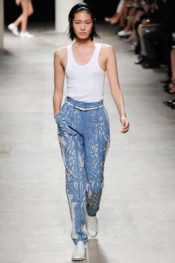 Модні жіночі джинси 2014