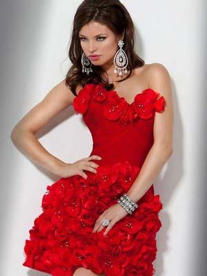 Модні короткі весільні сукні 2014