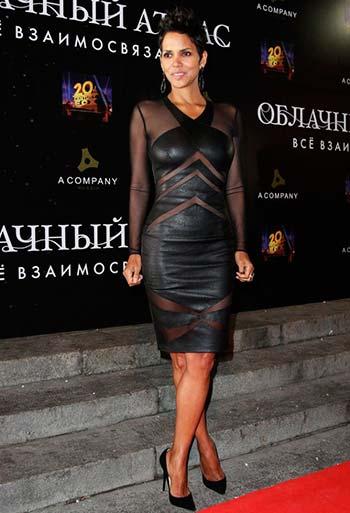 Шкіряні сукні знаменитостей 2014