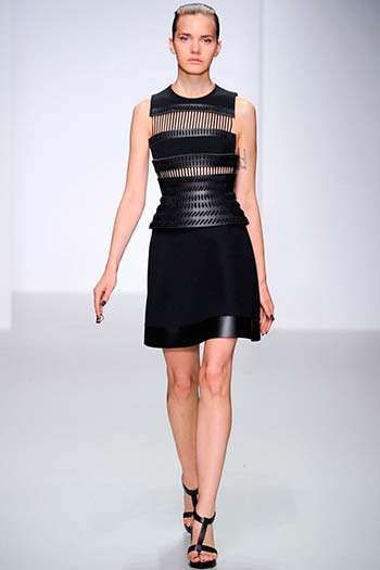 Чорні сукні весна-літо 2014