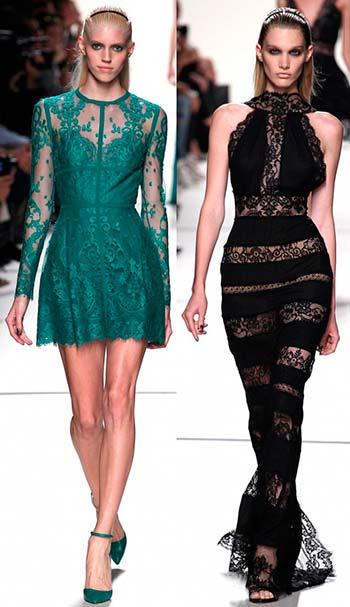 Мереживні і гіпюрові сукні 2014