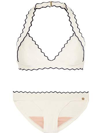Модні білі купальники 2014