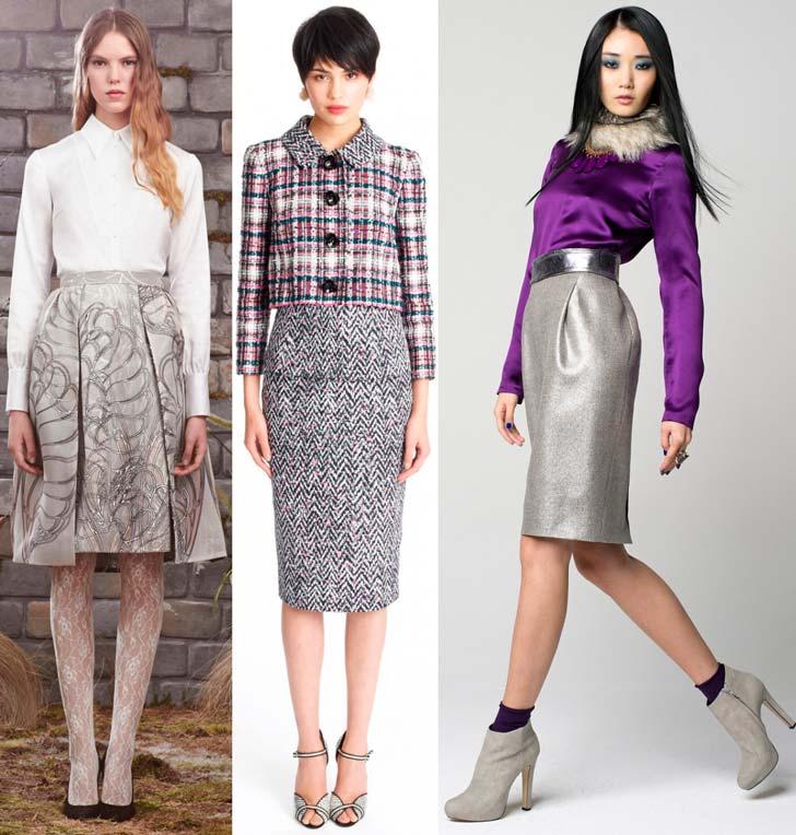 Модні спідниці осінь-зима 2014-2015