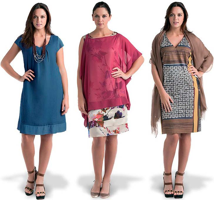Плаття для повних від Marina Rinaldi і Elena Miro