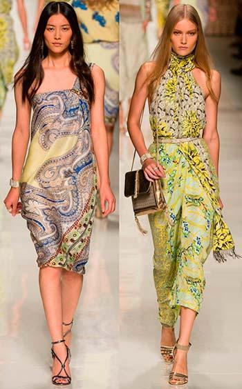 Відкриті сукні весна-літо 2014