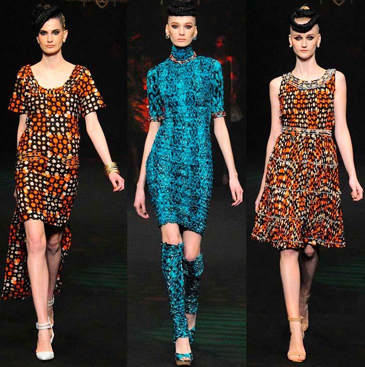 Японські сукні осінь і зима 2014-2015