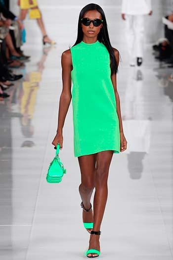 Зелені сукні весна-літо 2014