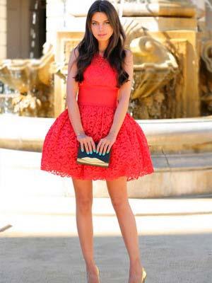 Модні червоні сукні 2014 – Любов + Мода 75315e69acb57
